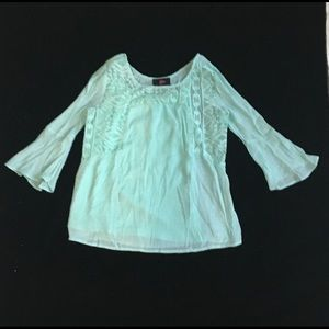 Girls Mint Color Top